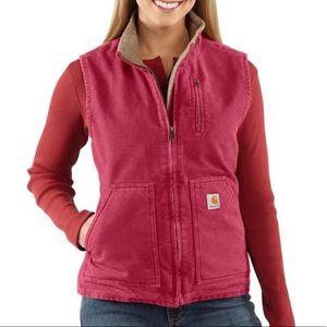 Carhartt Women's Sandstone Mock Neck Vest